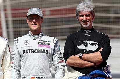 Schumacher 'can't go on' predicts Damon Hill