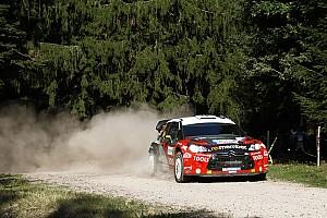 WRC Petter Solberg Rallye de France leg 1 summary