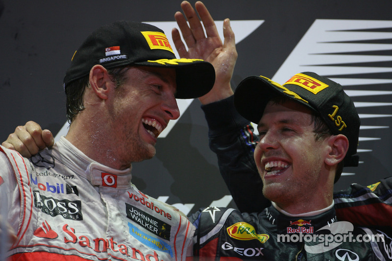 Button expects Vettel to win title in Japan