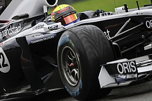 Formula 1 Williams optimizing car set-up for Japanese GP at Suzuka