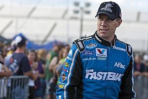 NASCAR XFINITY Carl Edwards gets the pole at Kansas Speedway