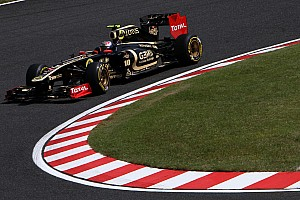 Formula 1 Lotus Renault Japanese GP - Suzuka race report