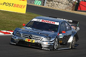 DTM Mercedes ready for the final race of the season at the Hockenheimring