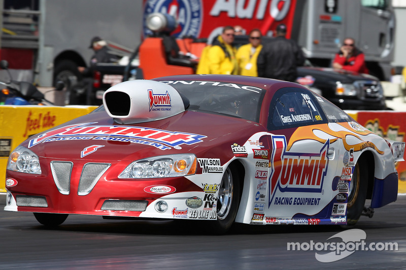 Greg Anderson looks for a change luck at Las Vegas