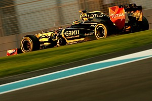 Formula 1 Lotus Renault Abu Dhabi GP Friday practice report