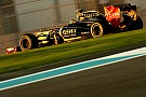 Lotus Renault Abu Dhabi GP Friday practice report