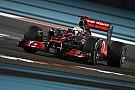 McLaren Abu Dhabi GP qualifying report
