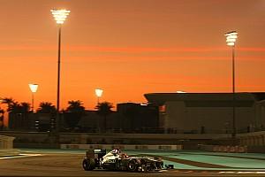 Formula 1 Mercedes Abu Dhabi GP race report