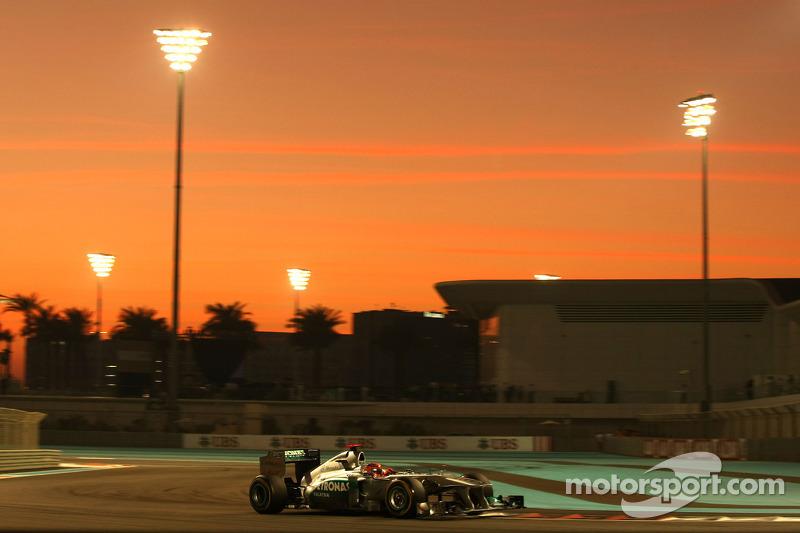 Mercedes Abu Dhabi GP race report