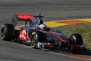 Formula 1 McLaren Abu Dhabi young driver test Wednesday report