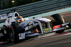 Formula 1 Sauber Abu Dhabi young driver test Thursday report