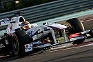 Sauber Abu Dhabi young driver test Thursday report