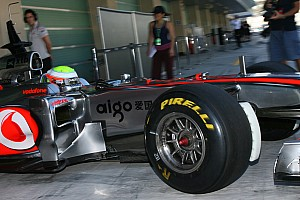 Formula 1 McLaren Abu Dhabi young driver test Thursday report