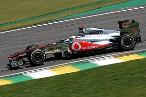 Formula 1 McLaren Brazilian GP Friday practice report