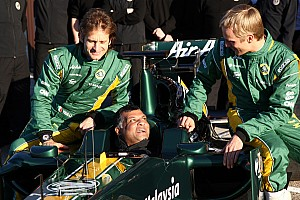 Formula 1 2012 driver lineup in place, for now - Fernandes