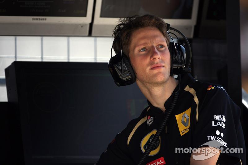 Romain Grosjean to race alongside Kimi Räikkönen in 2012