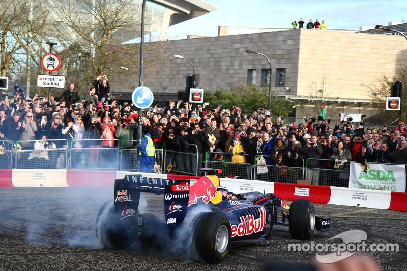 Red Bull Racing reports from Milton Keynes: Home run done!