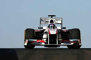 Formula 1 2012 Sauber to be launched at Jerez test
