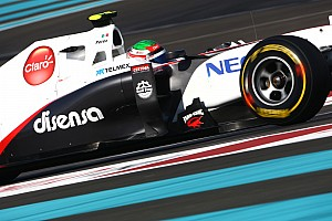 Formula 1 Photos show Sauber with UBS sponsor logos