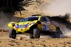 Cross-Country Rally Delahaye leads Schlesser after 1st stage of Africa Eco race