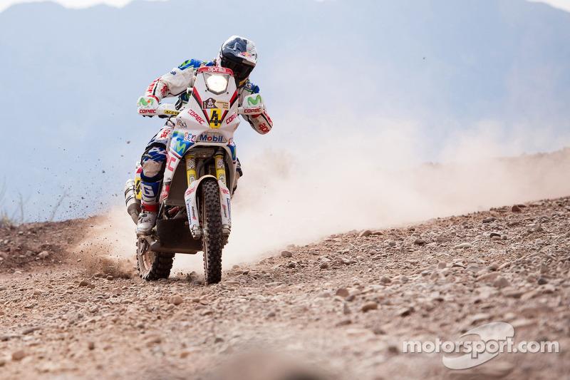 Aprilia Racing stage 4 report