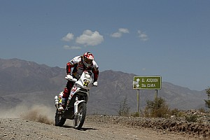 Dakar Aprilia Racing stage 5 report