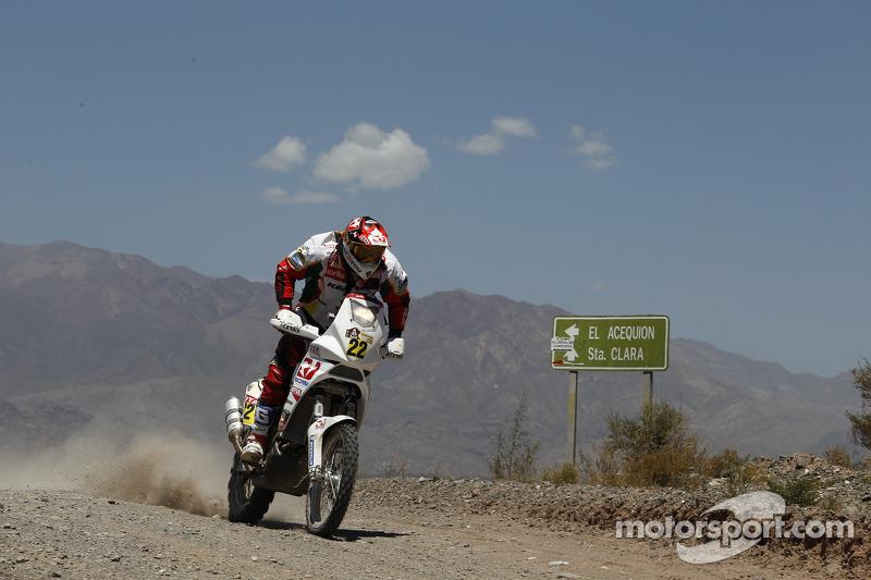 Aprilia Racing stage 5 report