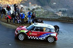 WRC MINI Monte Carlo Rally leg 1 summary