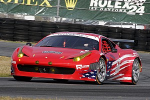 Grand-Am AF Waltrip Ferrari looking forward to Daytona 24H