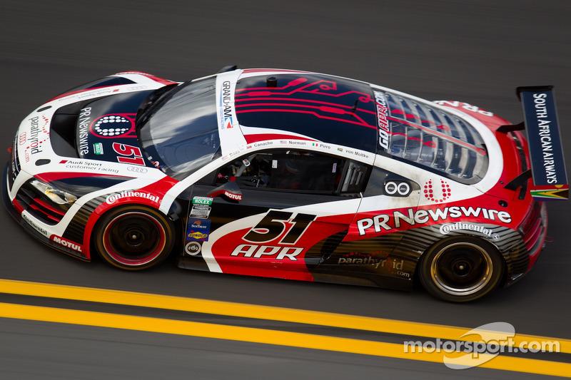 APR Motorsport Daytona 24H qualifying report