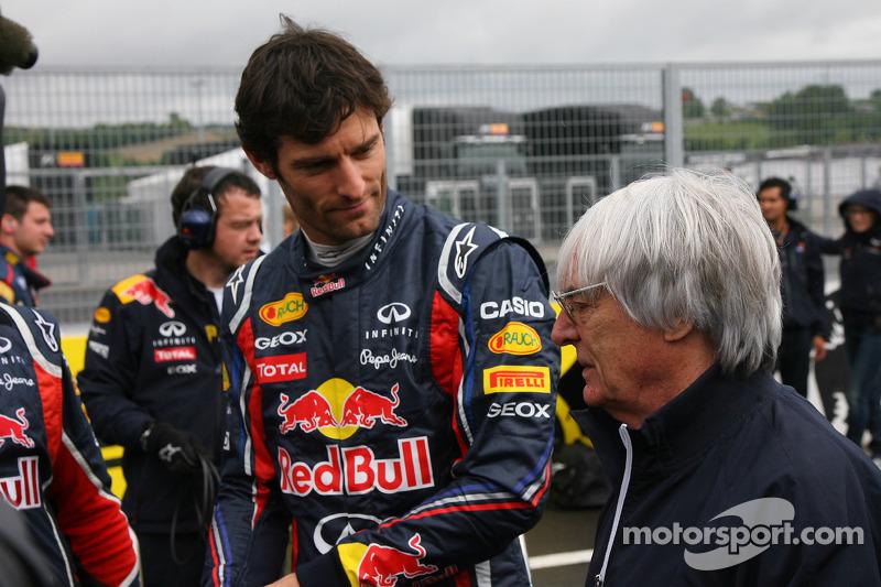Ecclestone backs Webber to shine in 2012