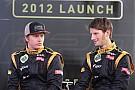 Raikkonen head-start no shock to teammate Grosjean