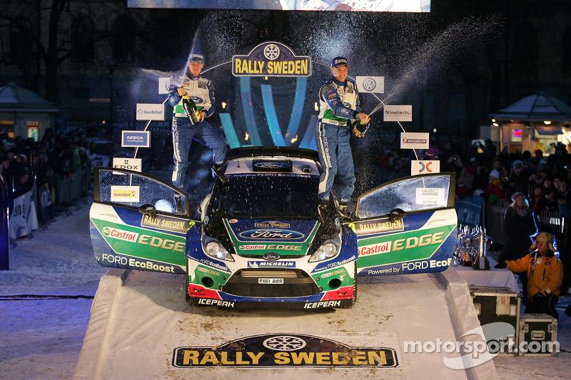 M-Sport Record 50Th WRC Win In Sweden