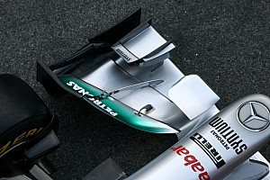 Formula 1 Mercedes wing innovation called 'W-duct'
