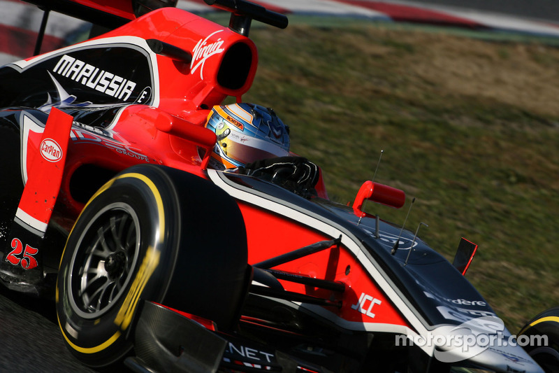 Marussia Barcelona testing -  Day 2 report