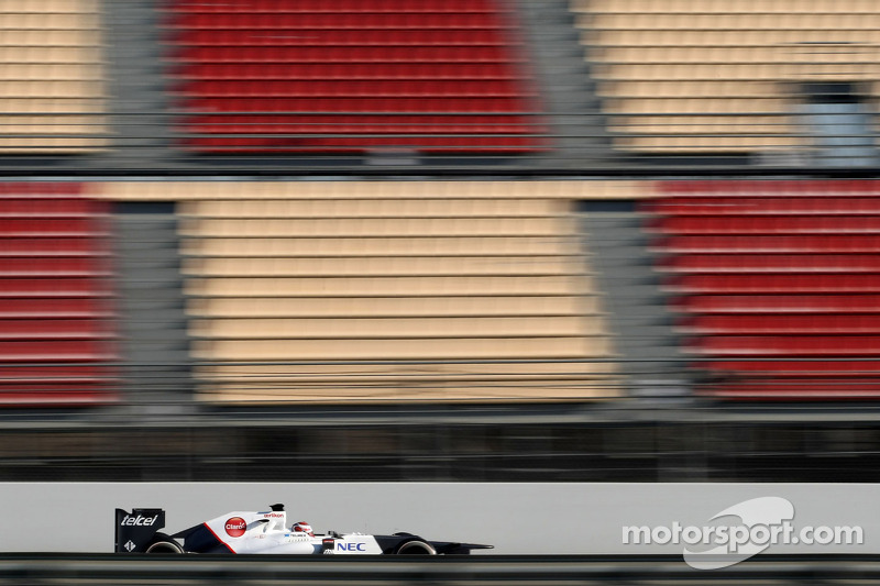 Sauber Barcelona testing - Day 3 report