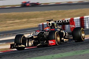 Formula 1 Grosjean again fastest on second day of Barcelona testing