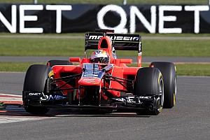 Formula 1 Marussia back on track with MR01