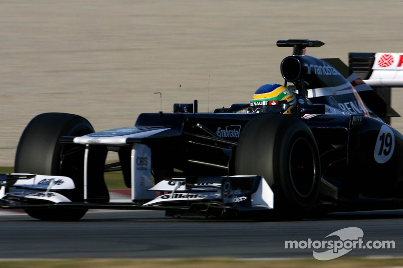 Senna confirms Williams deal for one year only
