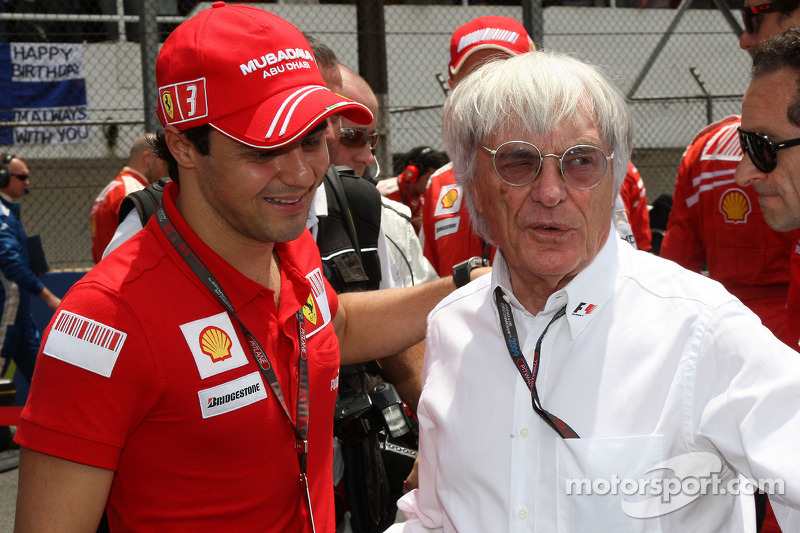 Kubica would have replaced Massa - Ecclestone