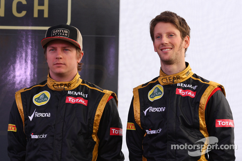 Optimistic Grosjean eyes third for Lotus