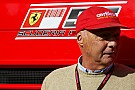 Ferrari crisis is exaggerated - Lauda
