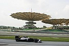 Williams Malaysian GP - Sepang Friday report