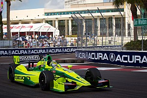 IndyCar KV Racing St. Pete qualifying report
