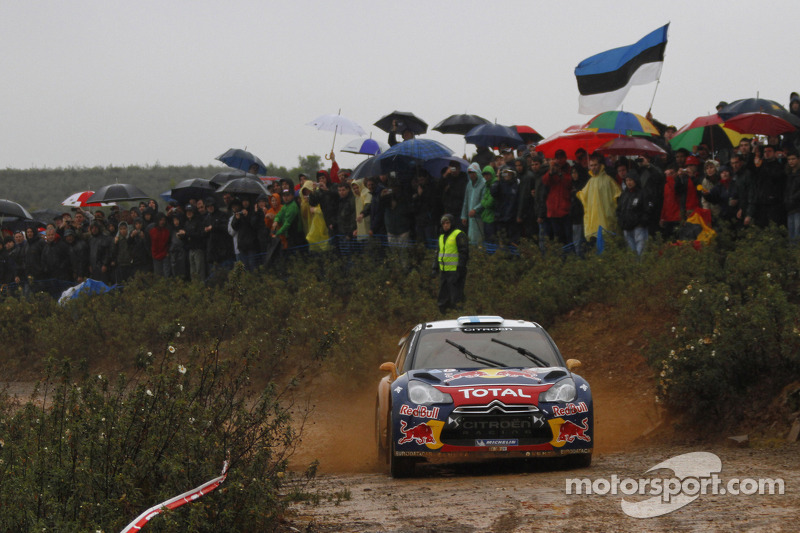 Safety reasons cancel most of day 2 in Portugal, Hirvonen leads