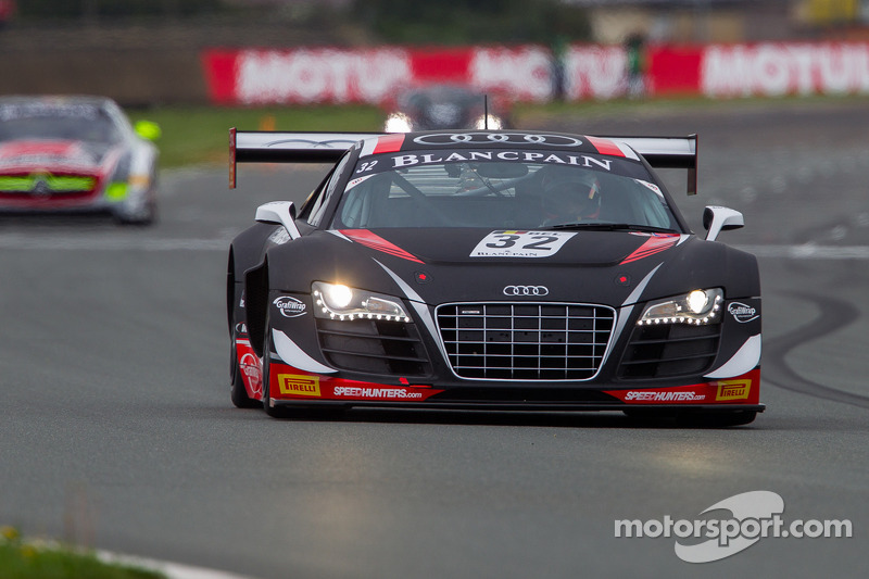 Ortelli and Vanthoor lead WRT Audi 1-2 in Nogaro