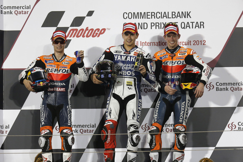 Bridgestone Qatar GP race report