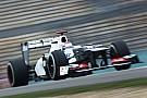 Sauber Chinese GP - Shanghai Friday report