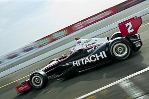 IndyCar Team Penske Long Beach qualifying report