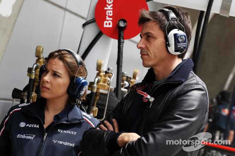 Wolff not Williams' new team boss